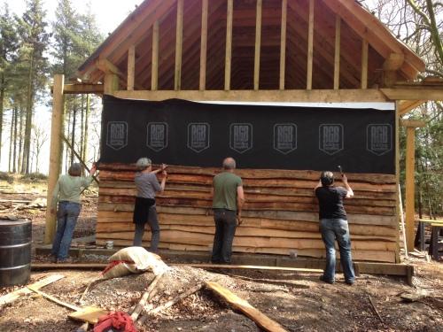 cladding the barn